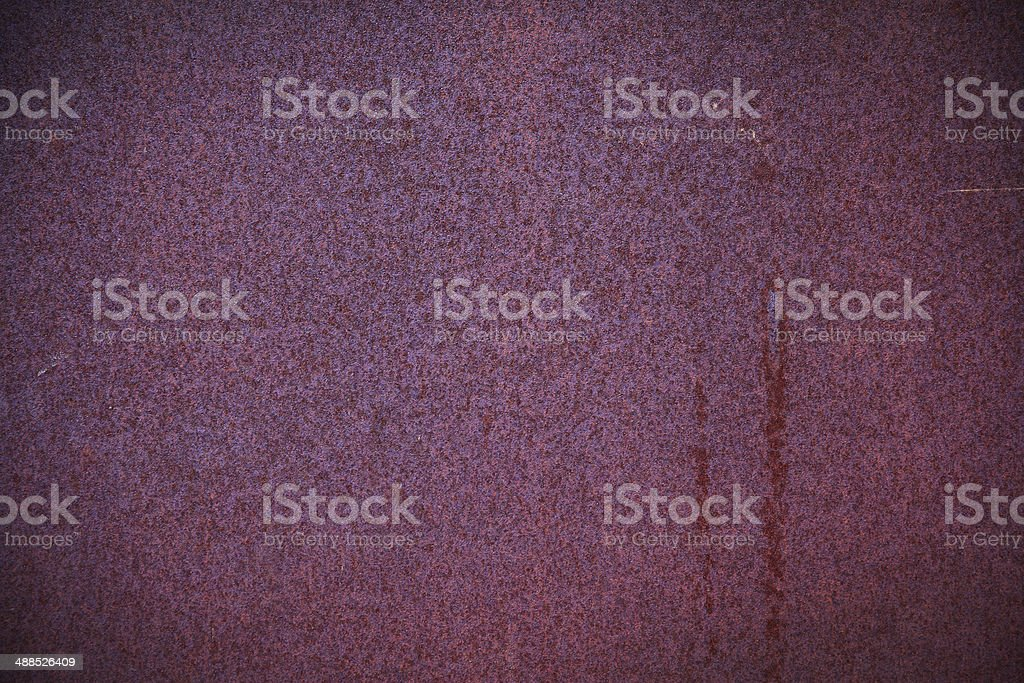 Rusty scratched surface royalty-free stock photo