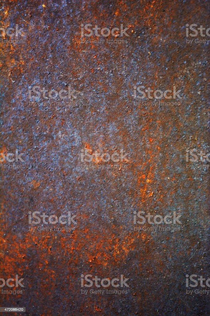 Rusty sheet metal stock photo