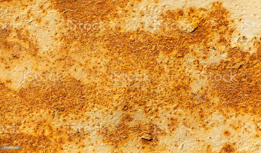 rusty sheet metal stock photo