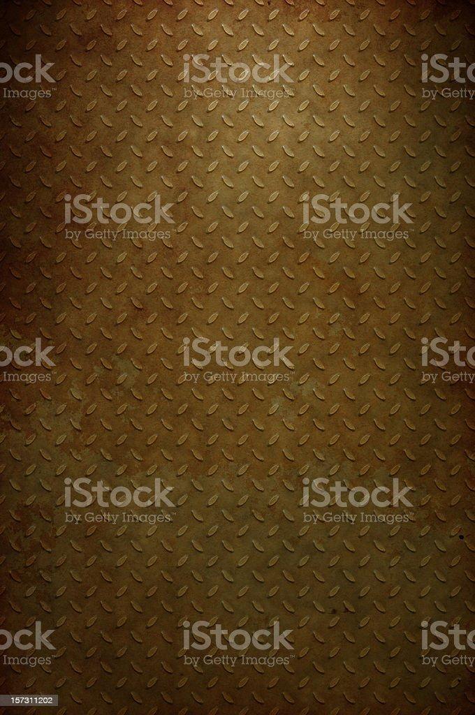 Rusty Skid Plate royalty-free stock photo