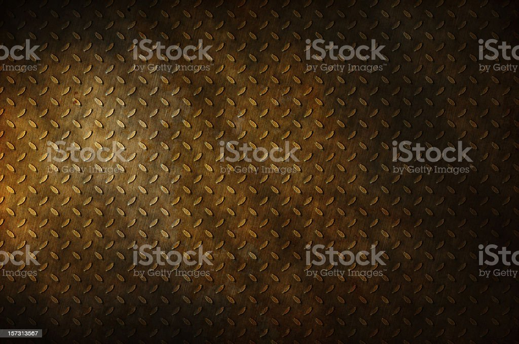 Rusty Skid Plate royalty-free stock photo