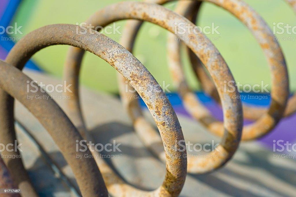 Rusty Spring royalty-free stock photo