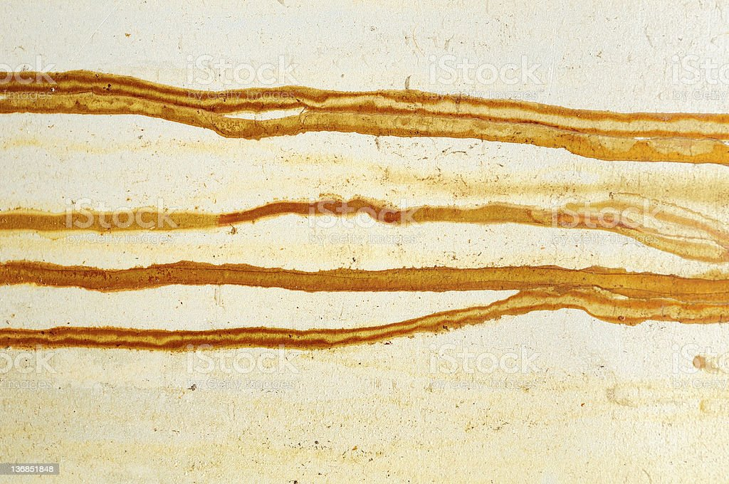 Rusty stain royalty-free stock photo