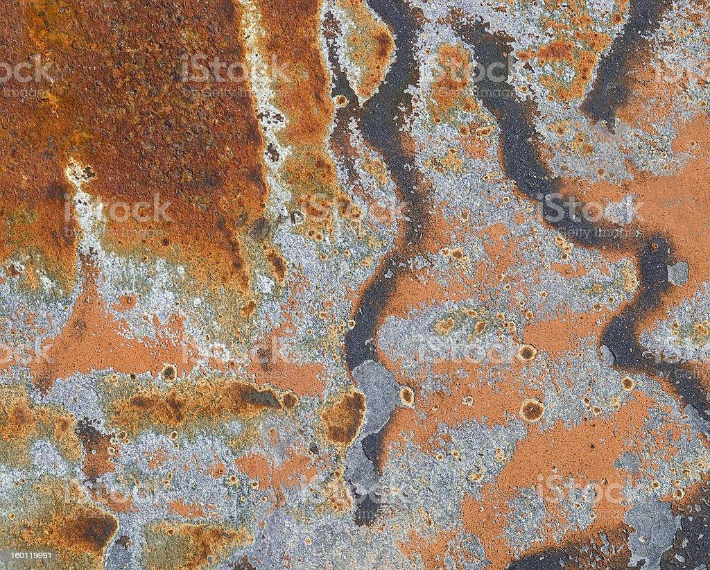 Rusty steel background stock photo