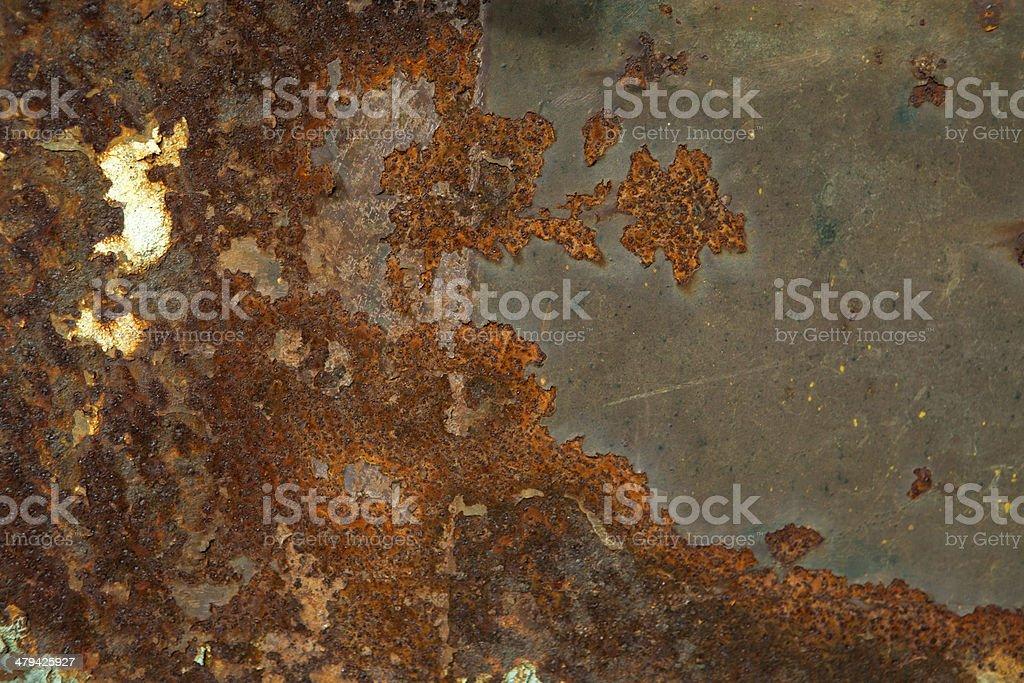 Rusty steel plane - textura stock photo