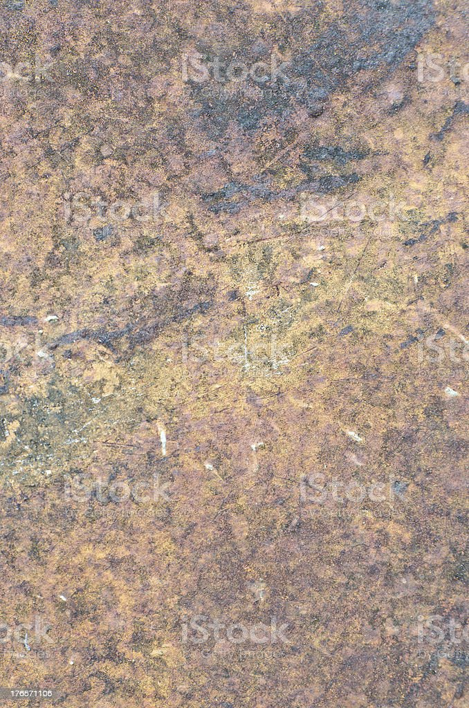 Rusty steel surface royalty-free stock photo