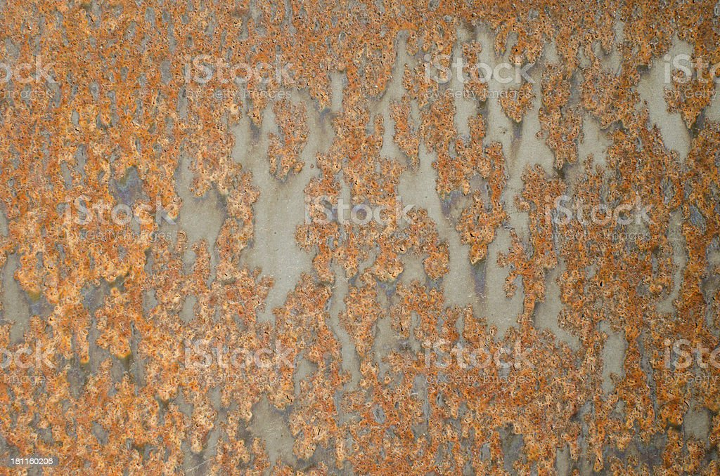 Rusty steel textured background royalty-free stock photo