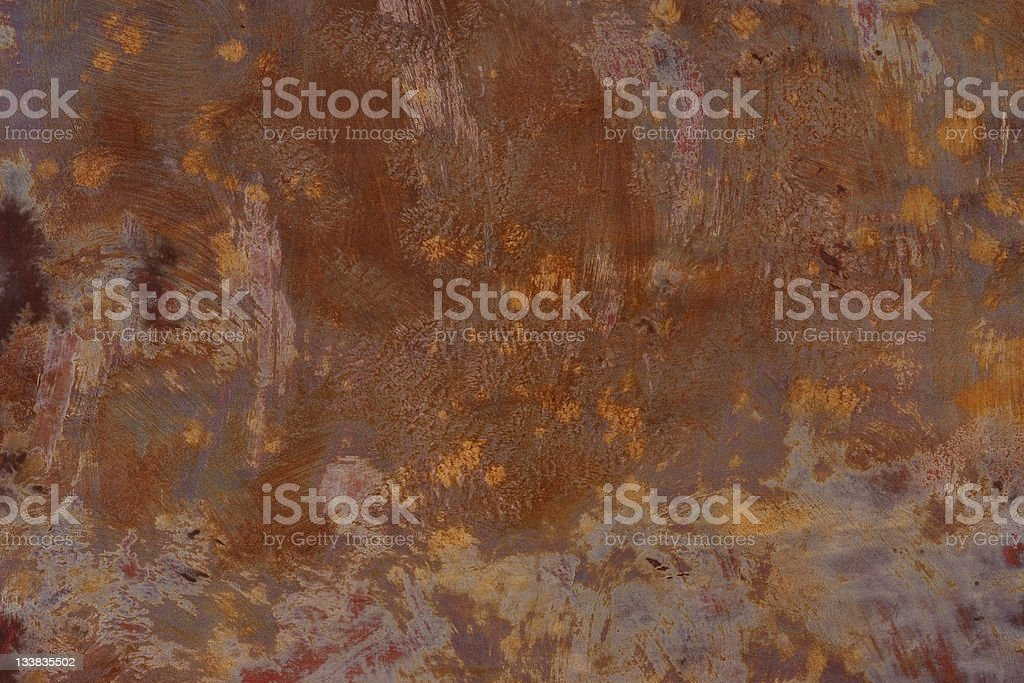Rusty steel wall texture background royalty-free stock photo