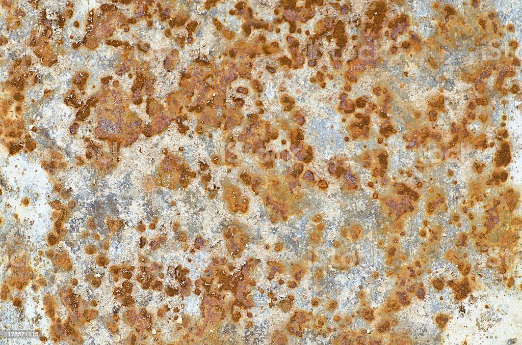 Rusty surface for background use royalty-free stock photo