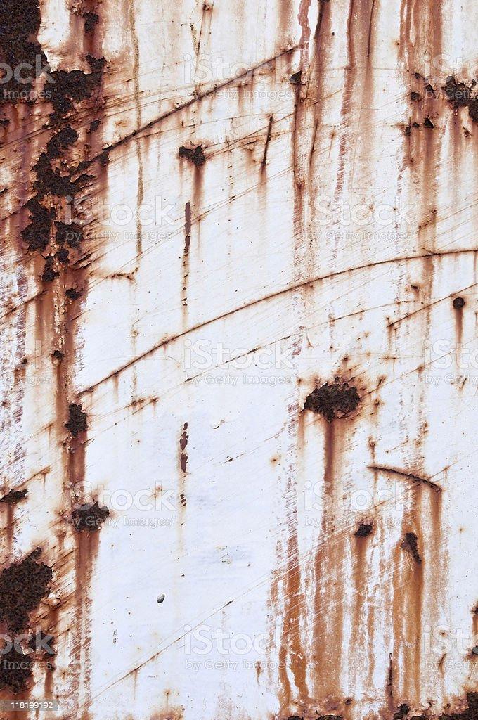 Rusty surface stock photo