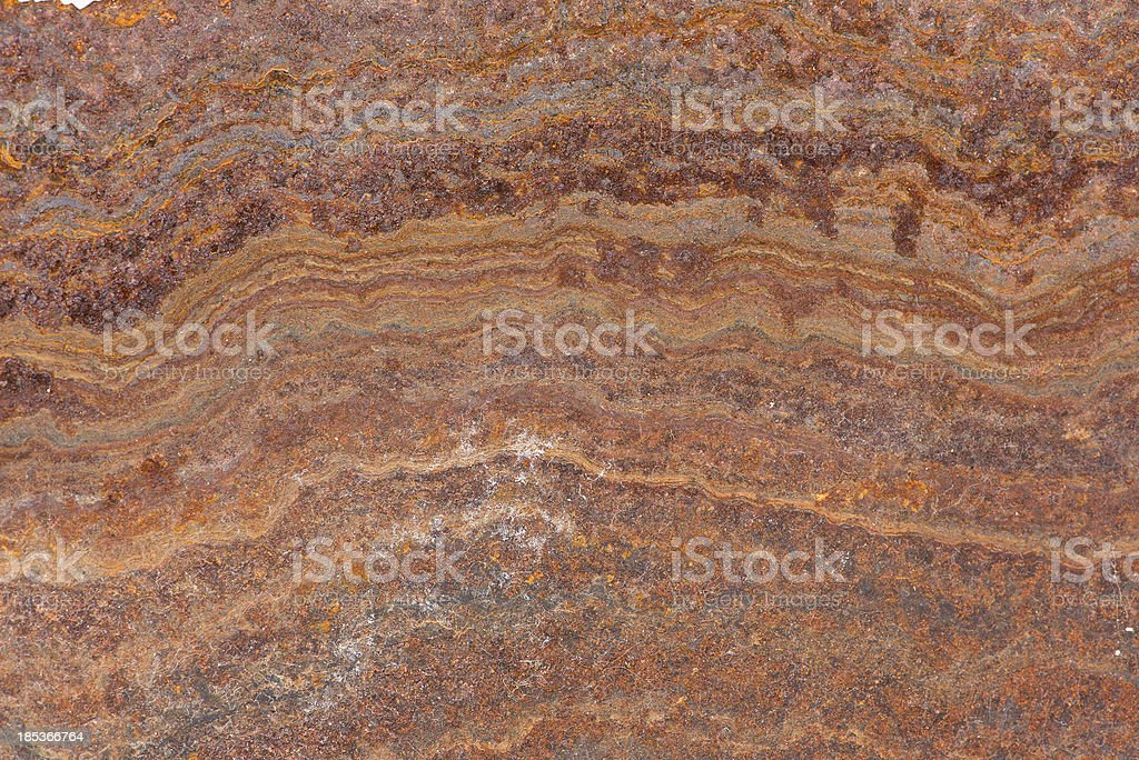 Rusty Surface Waves royalty-free stock photo