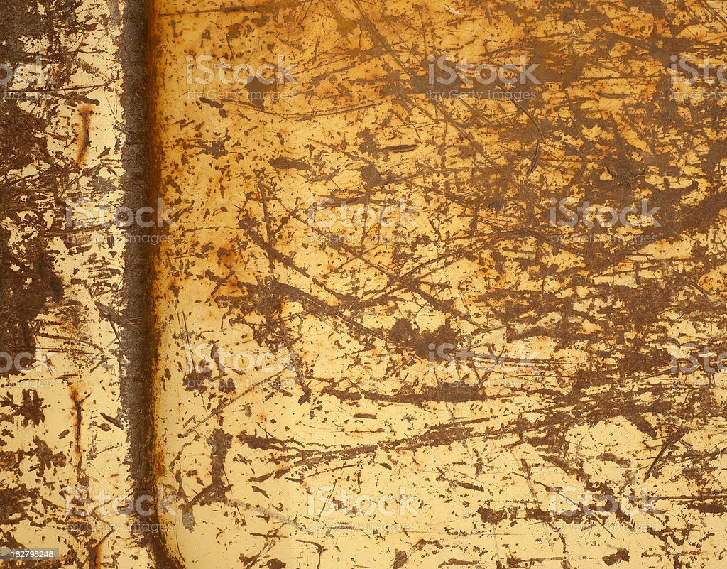 Rusty Tailgate Background royalty-free stock photo