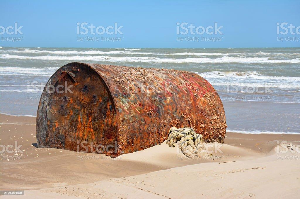 Rusty Tank stock photo