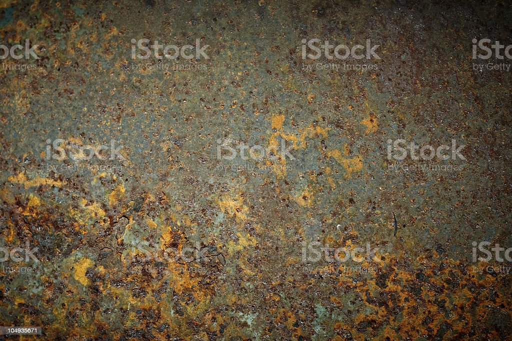Rusty texture of metal. royalty-free stock photo