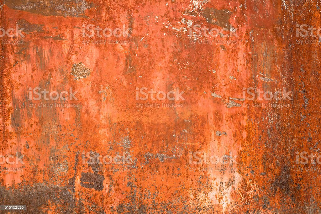 Rusty textured metal background stock photo