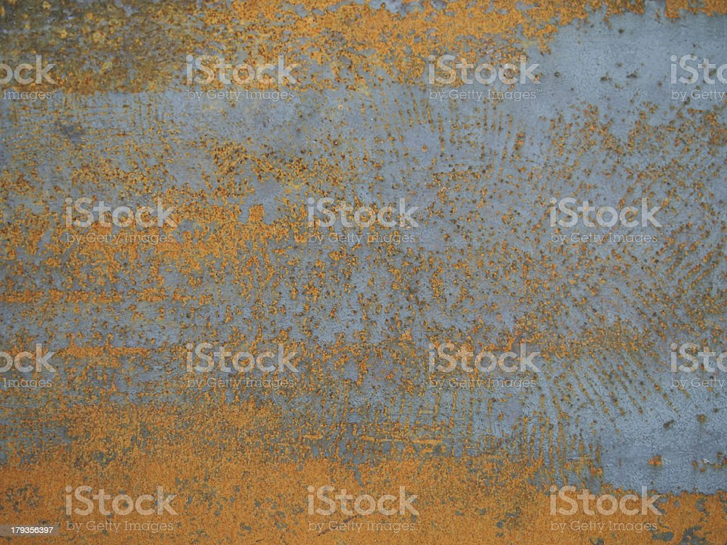 Rusty textured metal royalty-free stock photo
