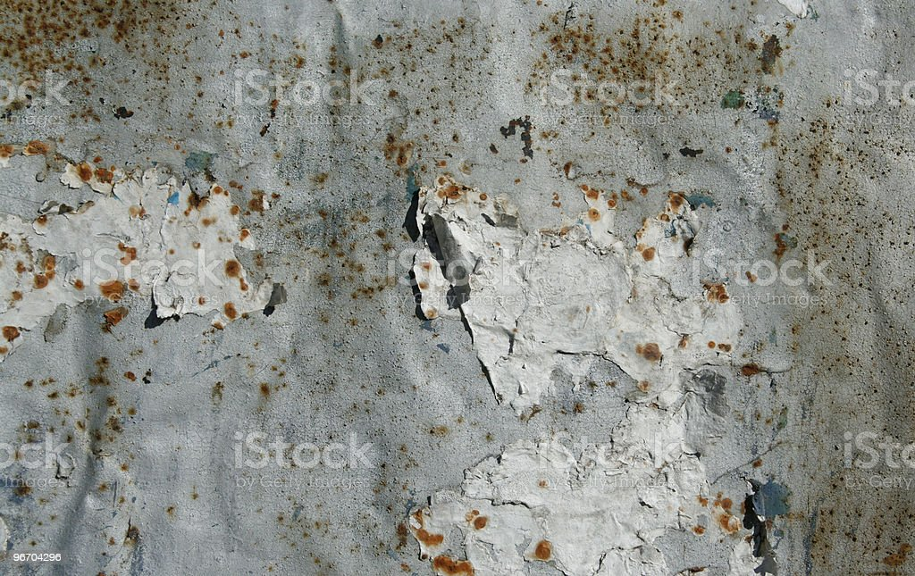 Rusty tin background royalty-free stock photo