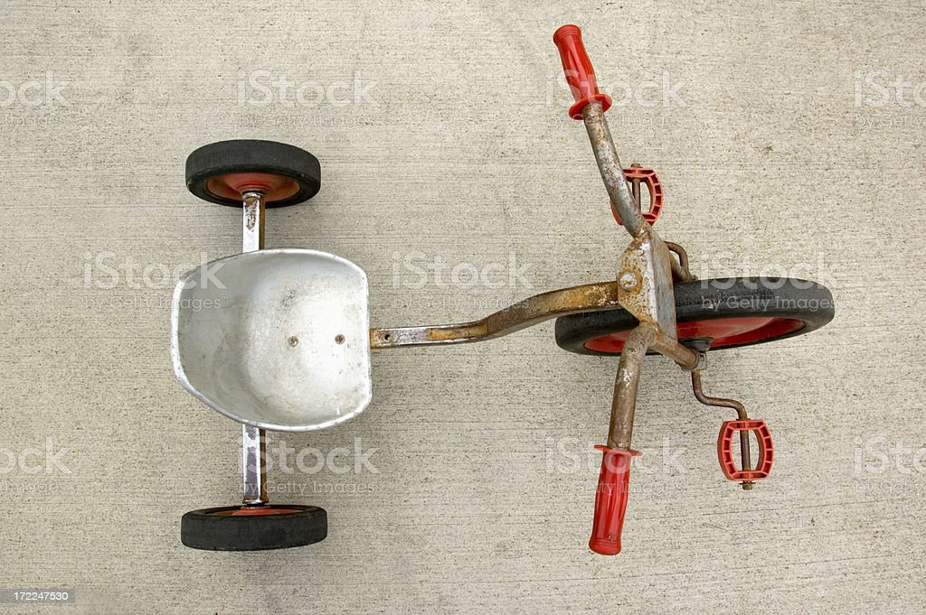 Rusty Tricycle royalty-free stock photo