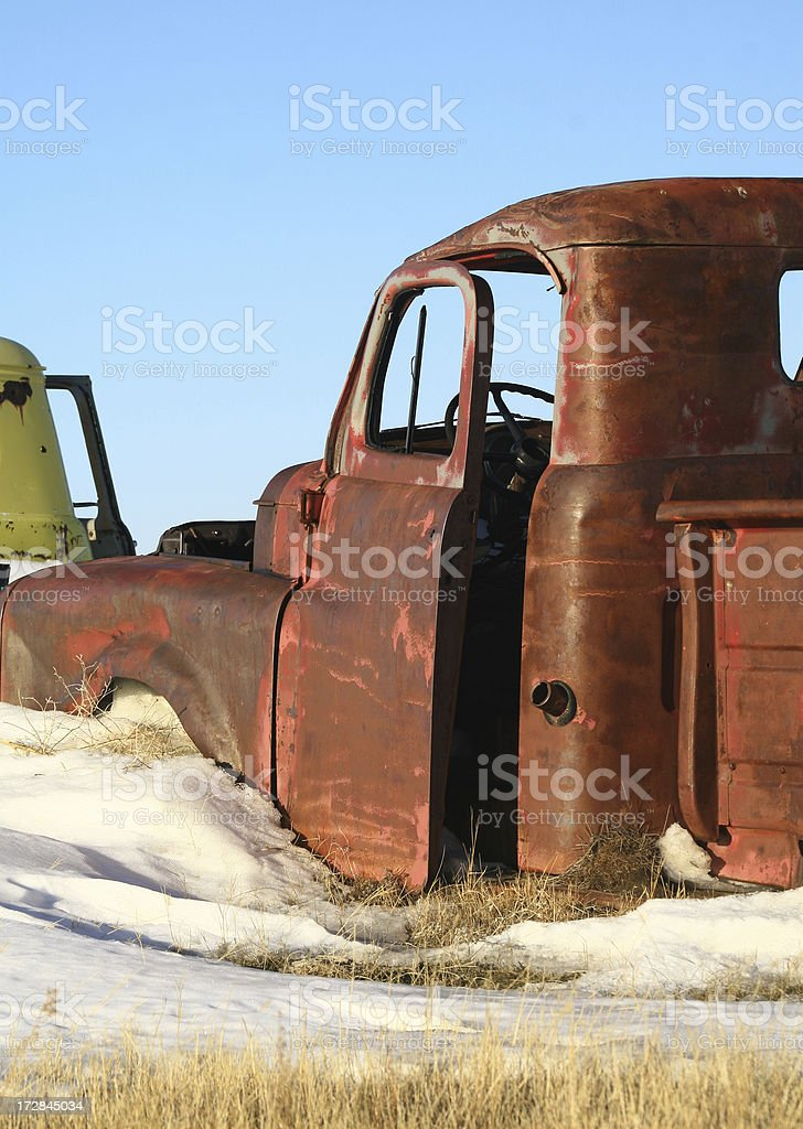 Rusty Truck royalty-free stock photo