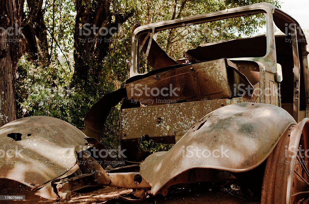 Rusty Vehicle Relic royalty-free stock photo