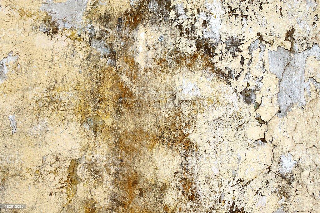 Rusty wall texture royalty-free stock photo