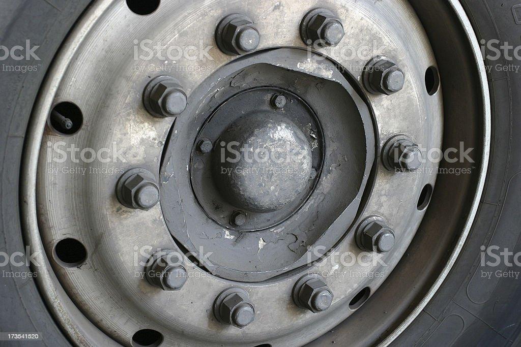 Rusty Wheel royalty-free stock photo