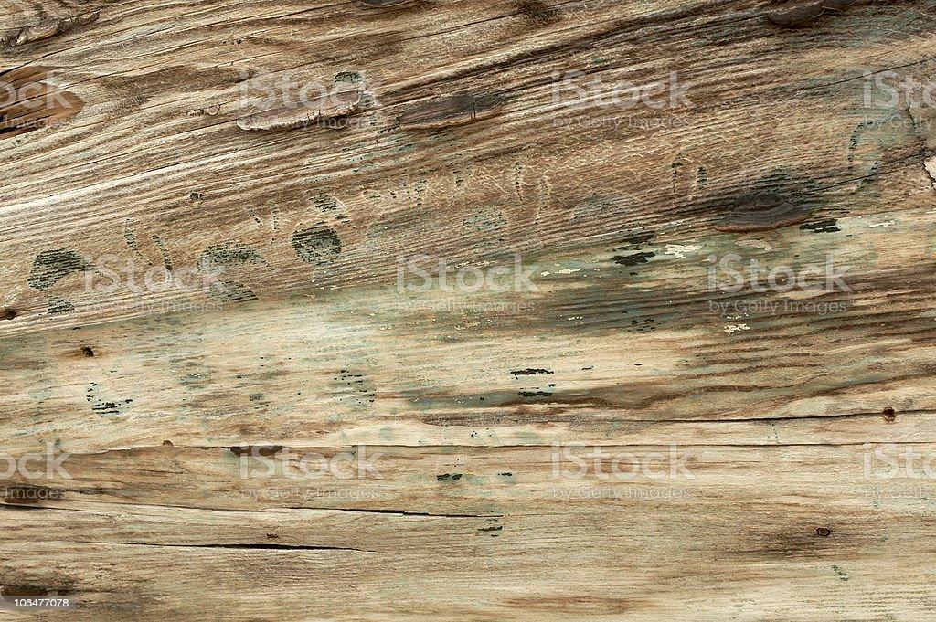 Rusty wood texture royalty-free stock photo