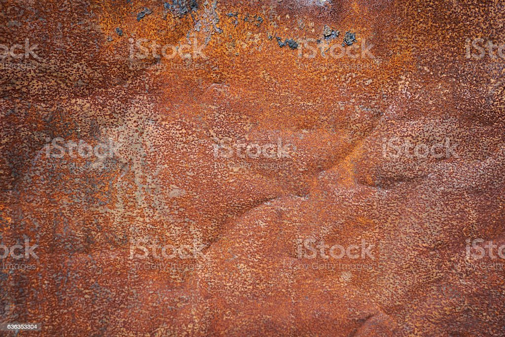rusty zinc board photo taken in Bogor Indonesia stock photo