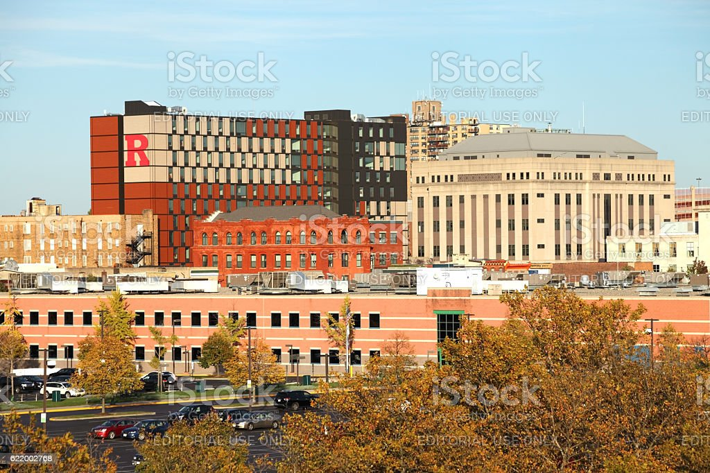 Rutgers University Camden stock photo