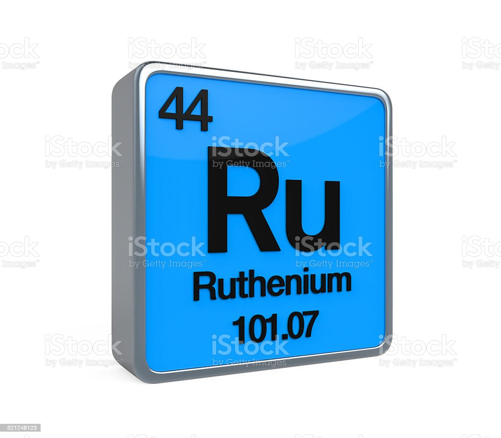 Ruthenium element periodic table stock photo 521248123 istock ruthenium element periodic table royalty free stock photo gamestrikefo Choice Image