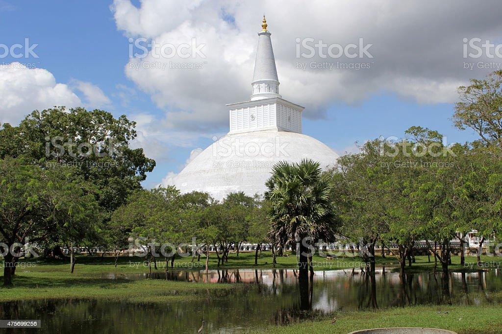 Ruwanwelisaya Pagoda, Anuradhapura stock photo