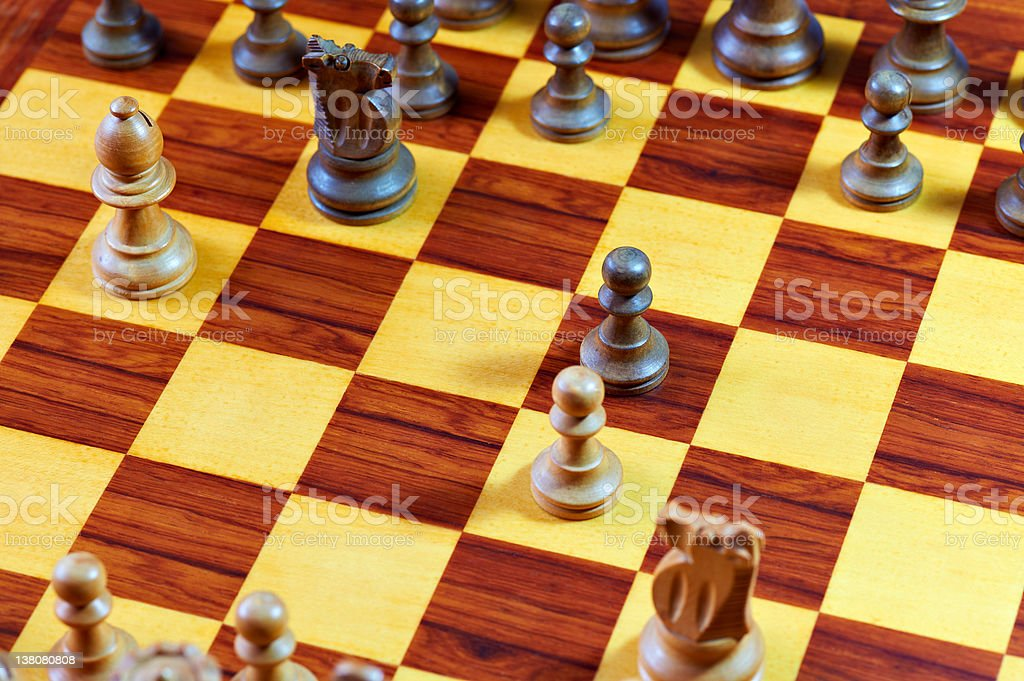 Ruy Lopez - popular Chess Opening Strategy stock photo