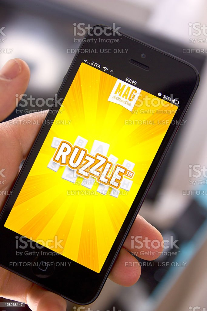 Ruzzle stock photo