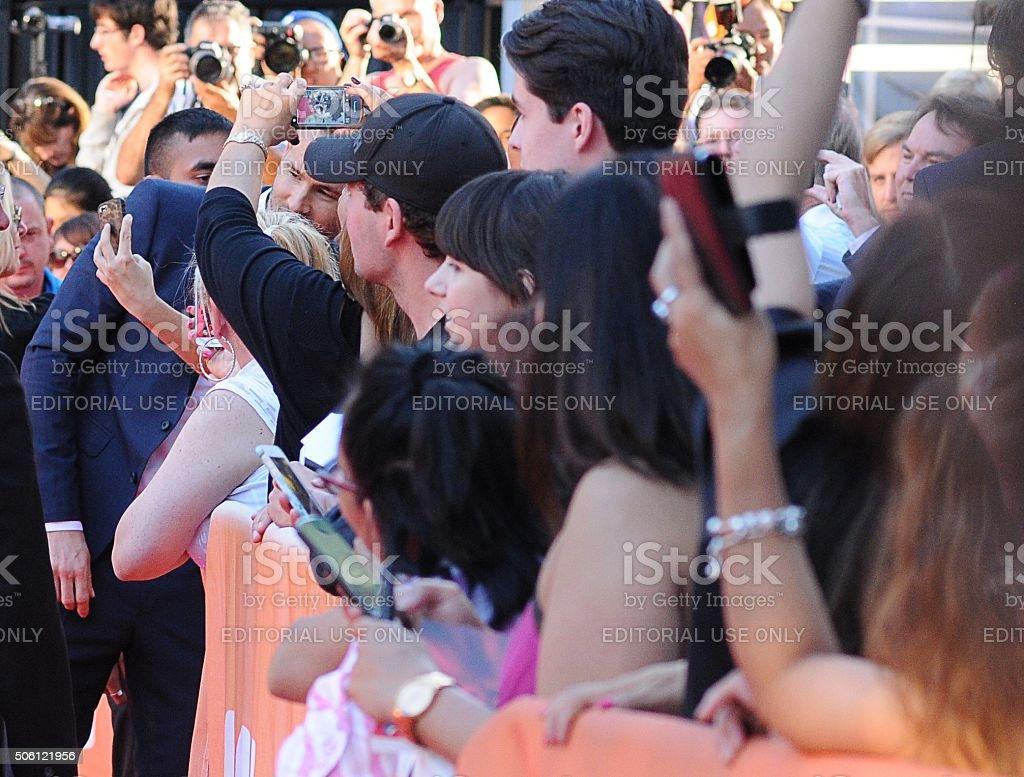 Ryan Reynolds in Toronto stock photo