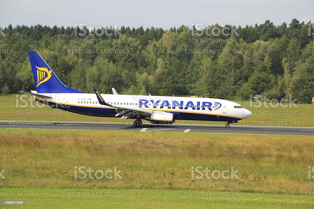 Ryanair Boeing 737-800 stock photo