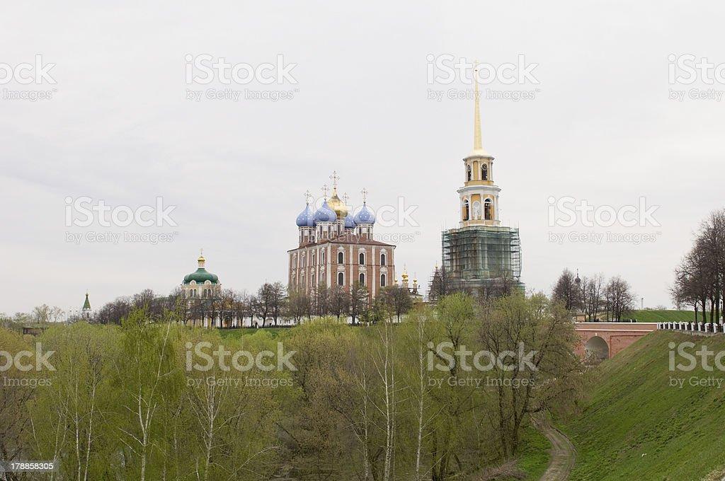 Ryazan Kremlin. royalty-free stock photo