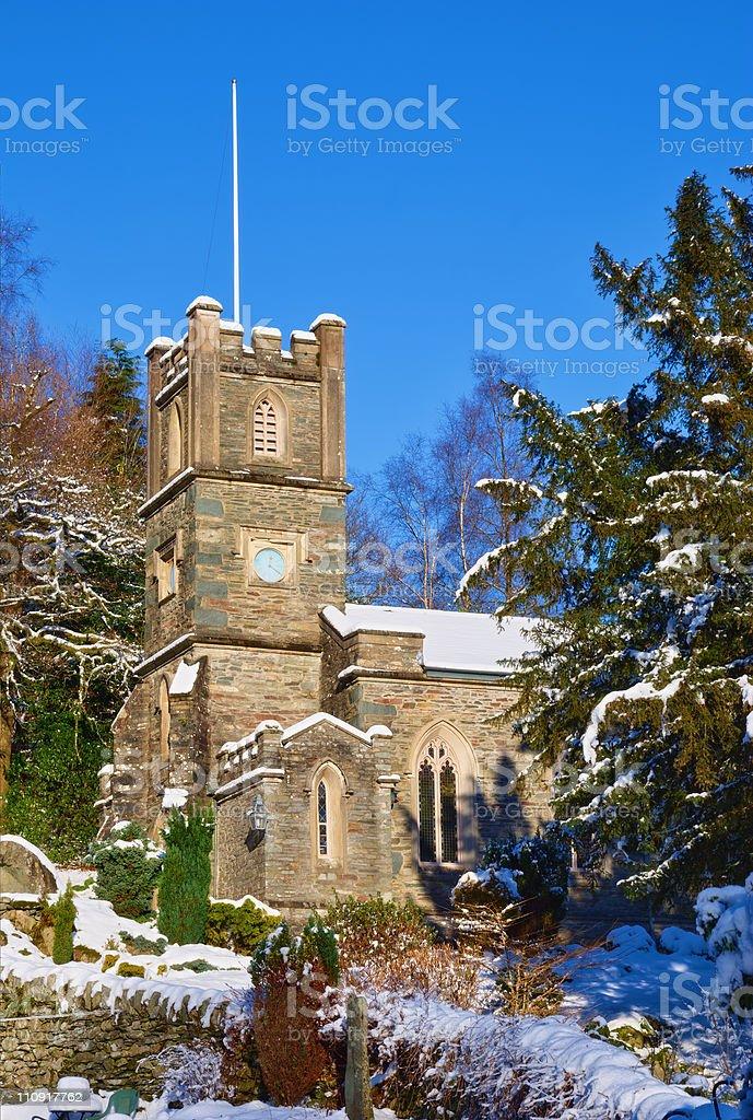 Rydal Church stock photo