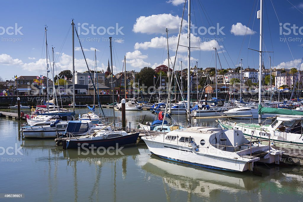 Ryde Isle Of Wight England stock photo