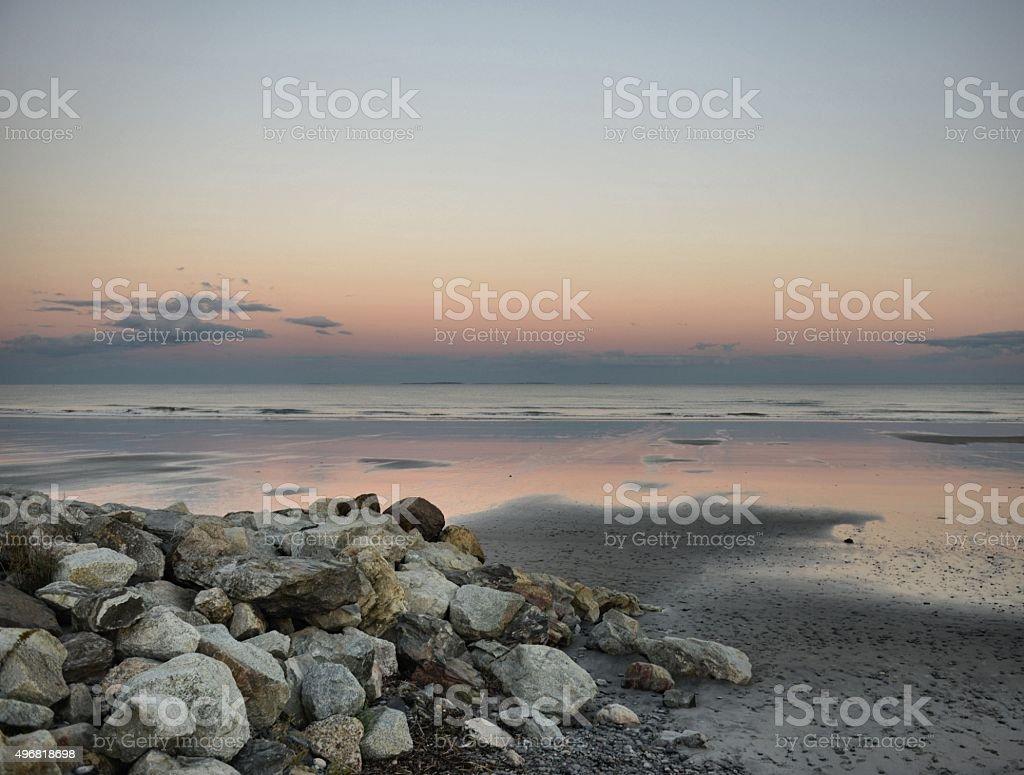 Rye Beach stock photo