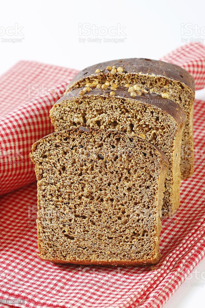 rye bread royalty-free stock photo