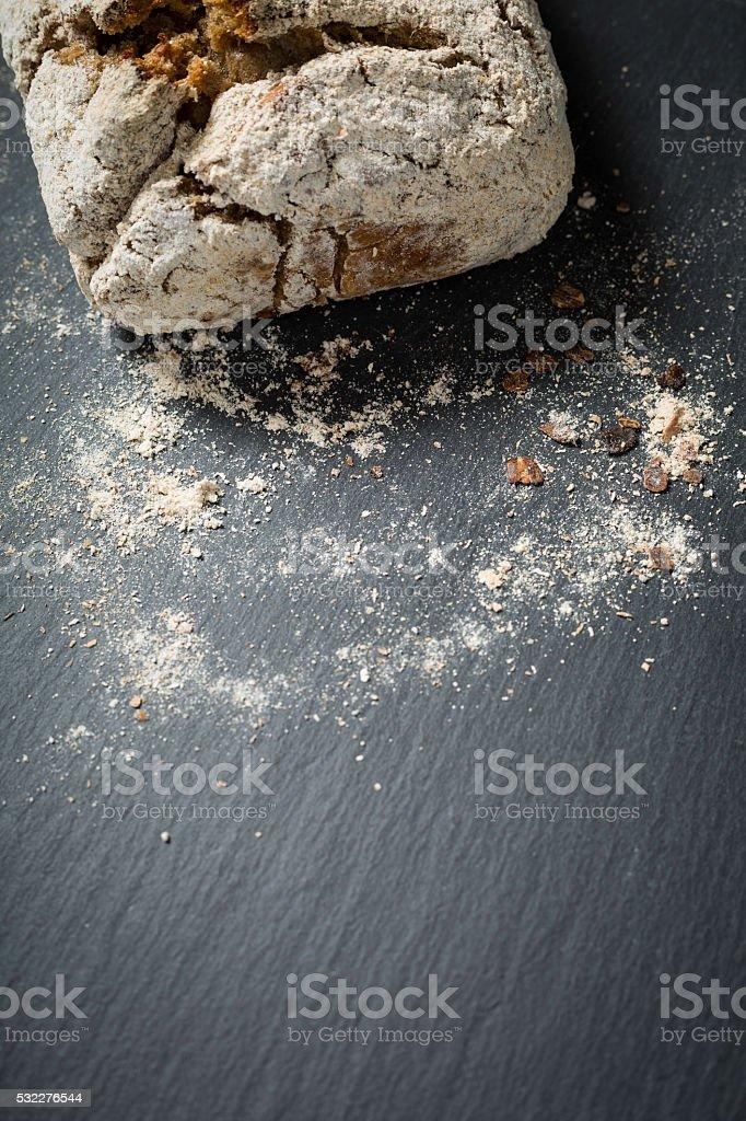 rye bread stock photo