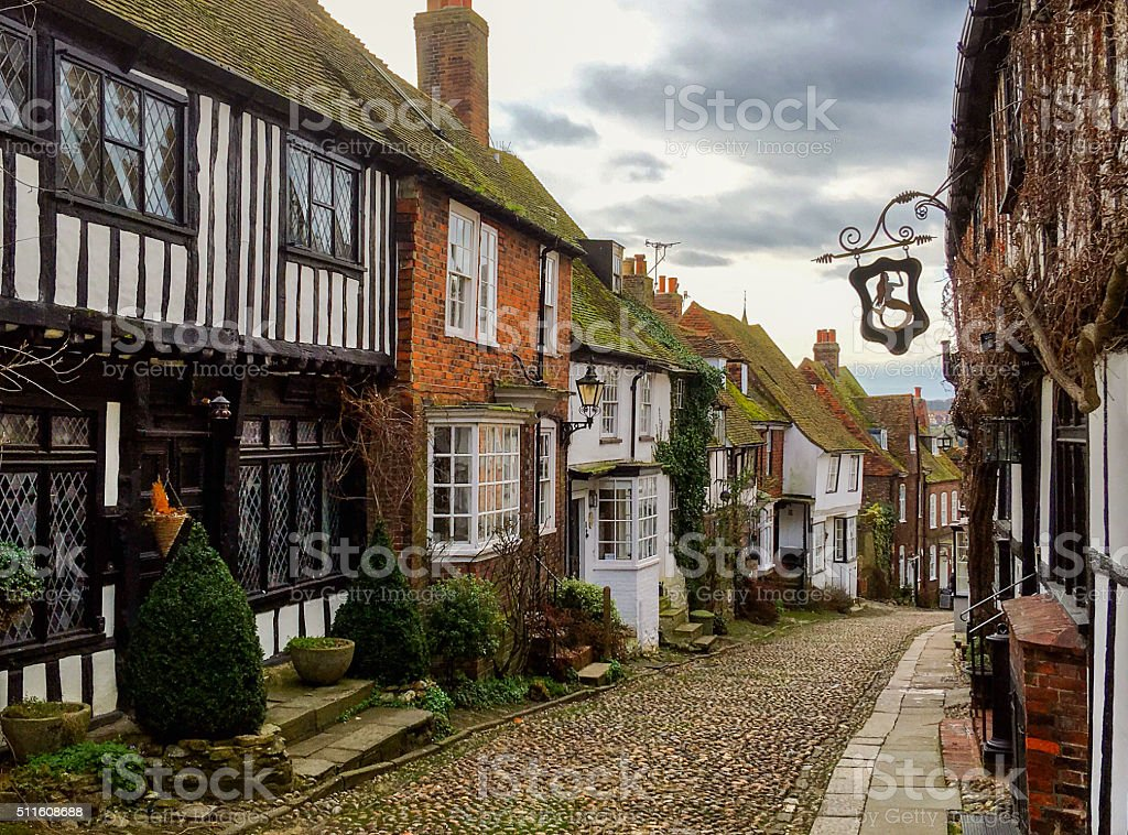 Rye, East Sussex, UK stock photo