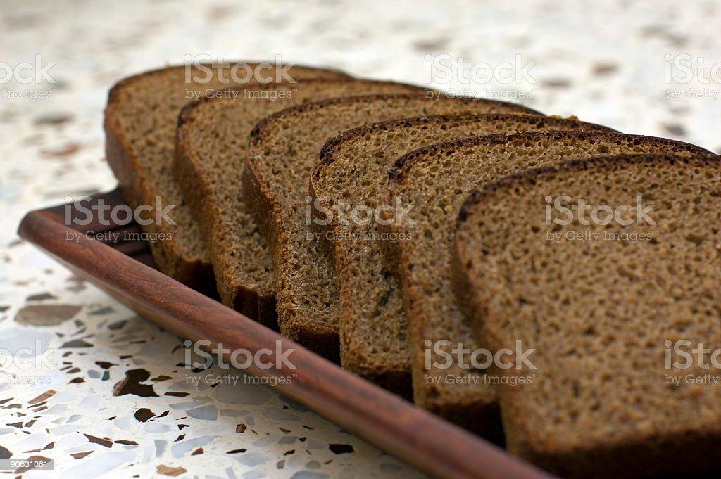 rye-bread stock photo