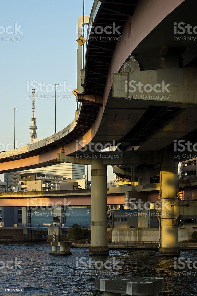 Ryogoku Junction stock photo