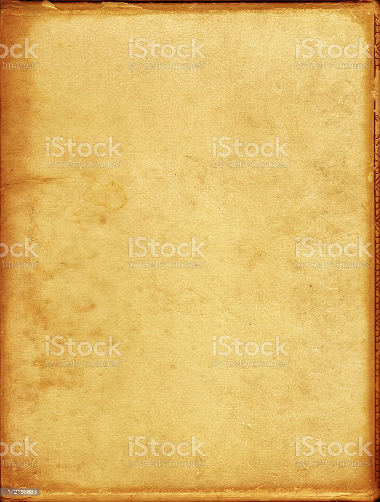 1950's aged paper stock photo