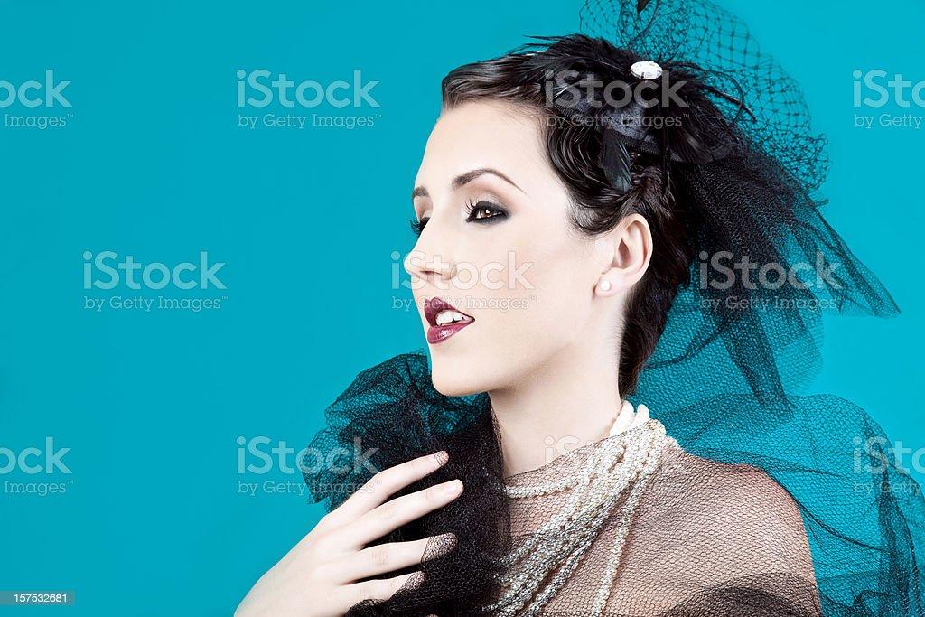 20's Beauty royalty-free stock photo