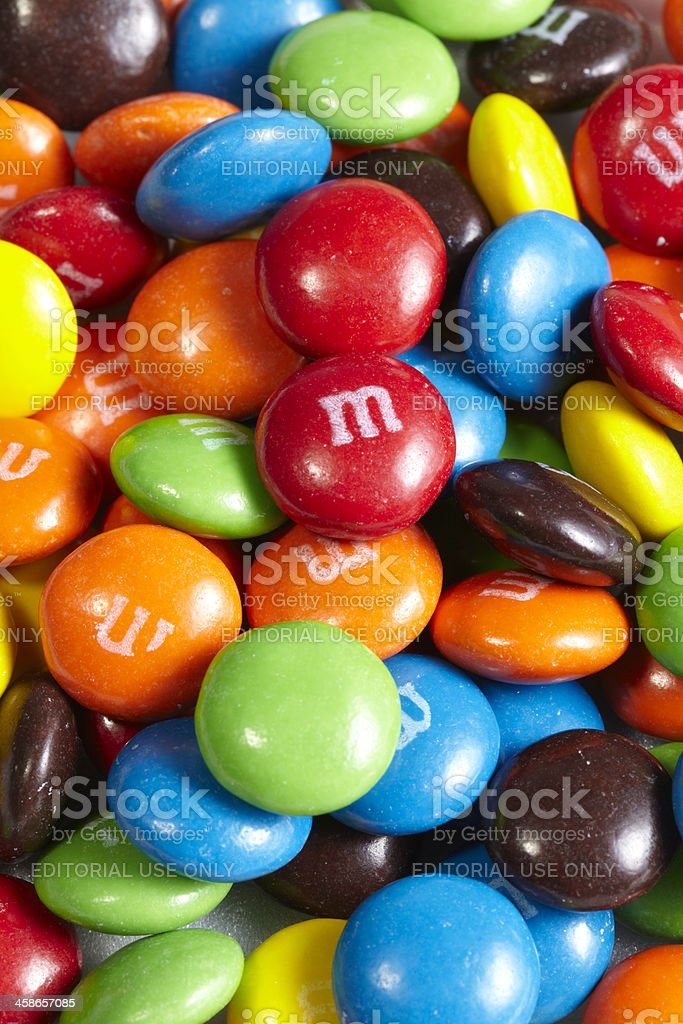 M&M's Candy royalty-free stock photo