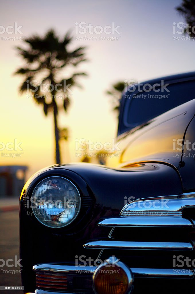 1940's Classic Car stock photo