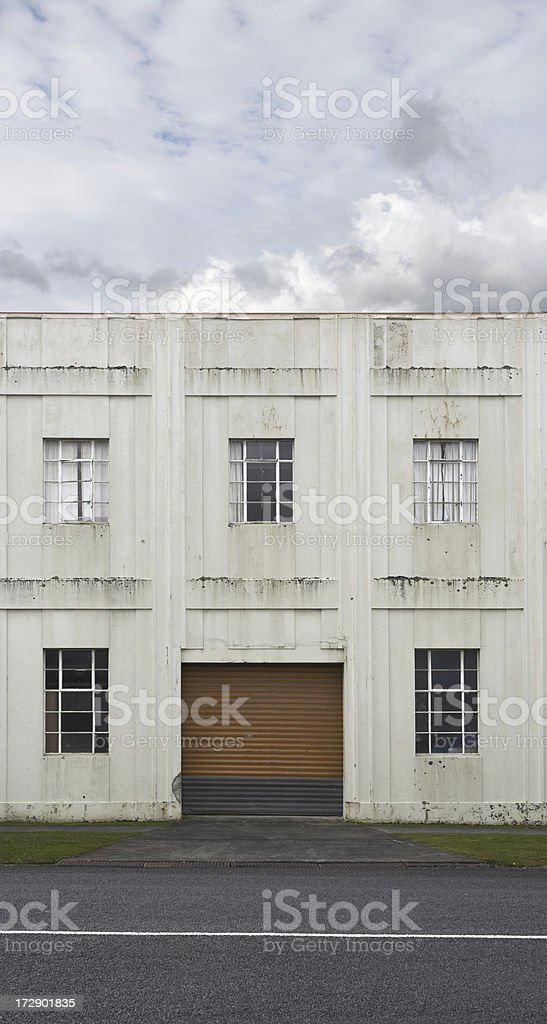 1930's factory royalty-free stock photo