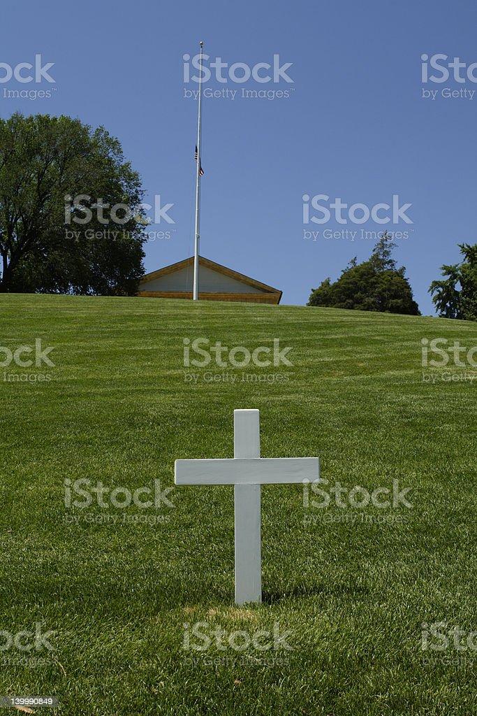 RFK's Grave stock photo